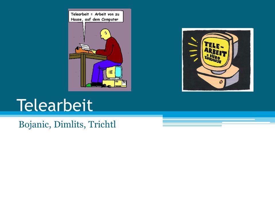 Telearbeit Bojanic, Dimlits, Trichtl