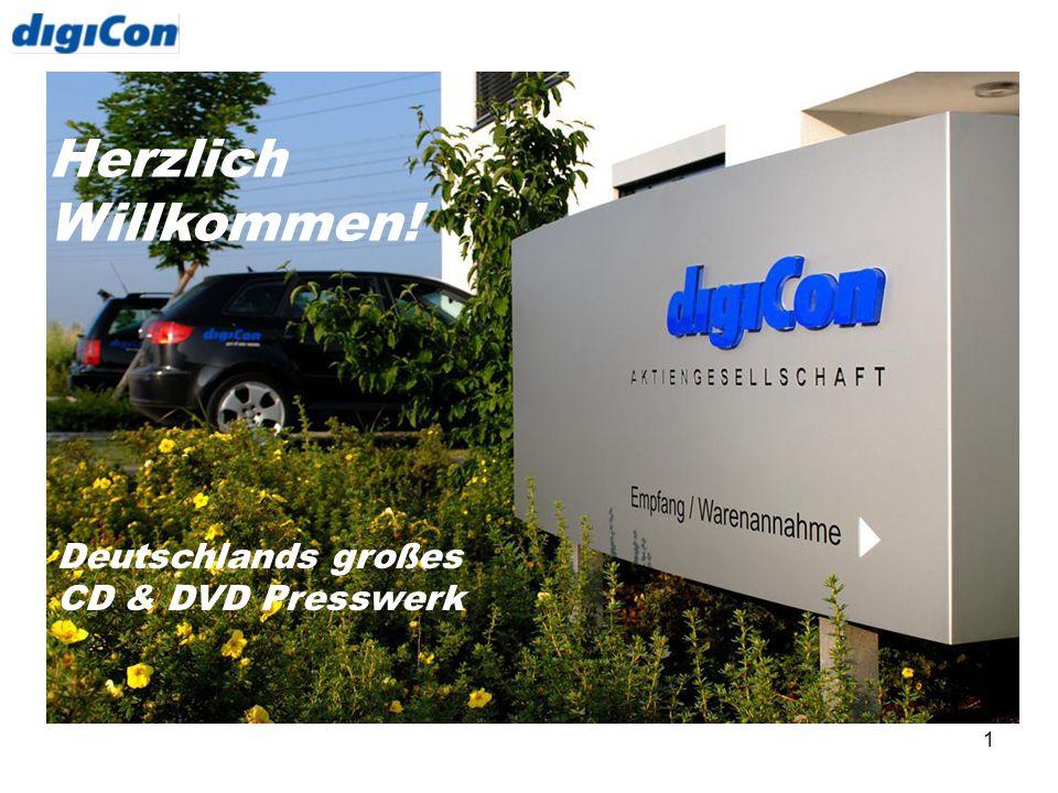 1 Herzlich Willkommen! Deutschlands großes CD & DVD Presswerk
