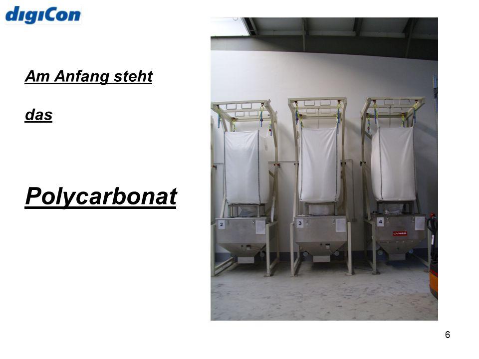 6 Am Anfang steht das Polycarbonat