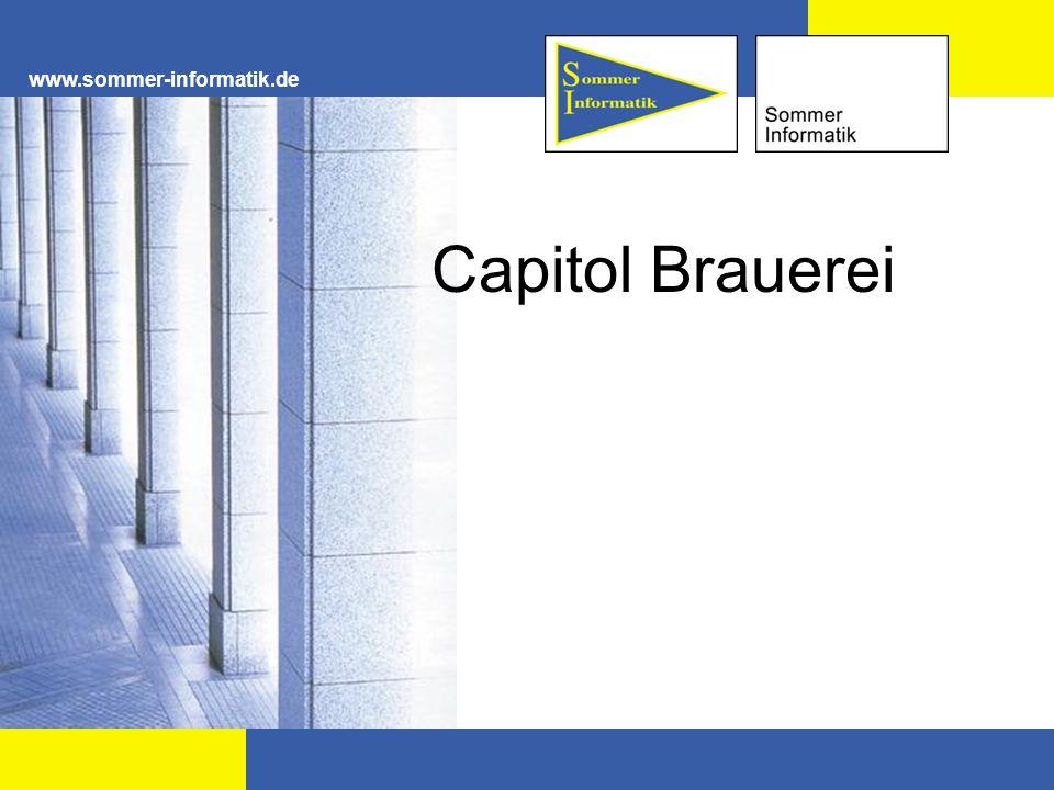 www.sommer-informatik.de Capitol Brauerei