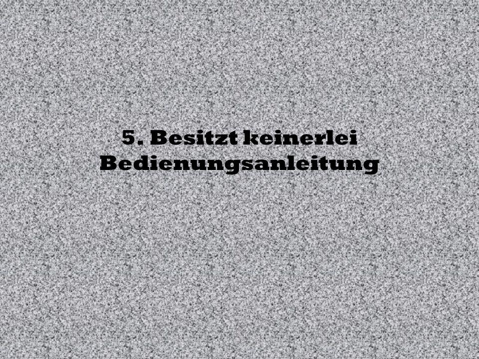 4. Verweigert zu häufig den Dienst