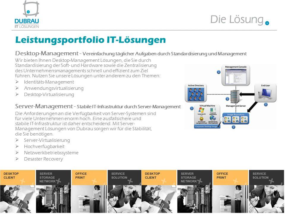 Desktop-Management - Vereinfachung täglicher Aufgaben durch Standardisierung und Management Wir bieten Ihnen Desktop-Management Lösungen, die Sie durc