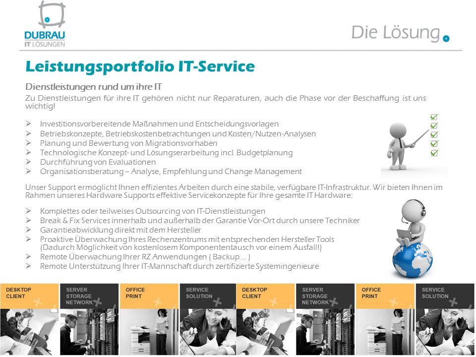 Dienstleistungen rund um ihre IT Zu Dienstleistungen für ihre IT gehören nicht nur Reparaturen, auch die Phase vor der Beschaffung ist uns wichtig! 