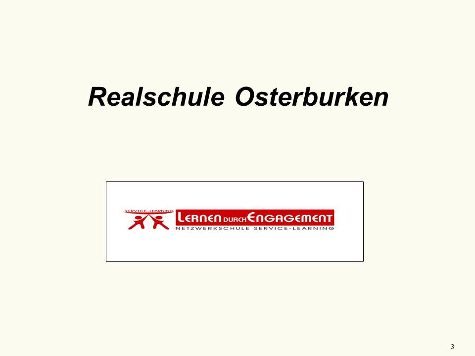 """4 Ganztagesrealschule Osterburken """"Rücksichtsvoll, sozial, offen 25 Jahre 538 SchülerInnen 21 Klassen 45 LehrerInnen neue Schulleitung ländliches Einzugsgebiet"""