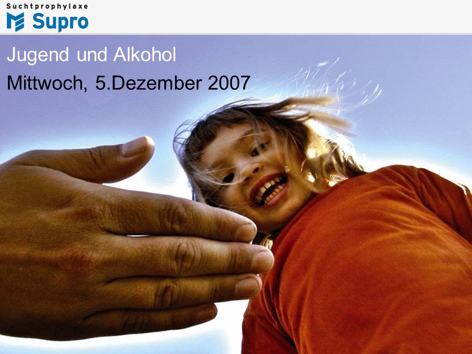 1www.supro.at Jugend und Alkohol Mittwoch, 5.Dezember 2007