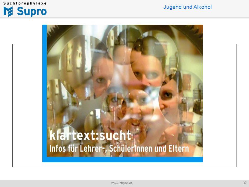 Jugend und Alkohol 37www.supro.at