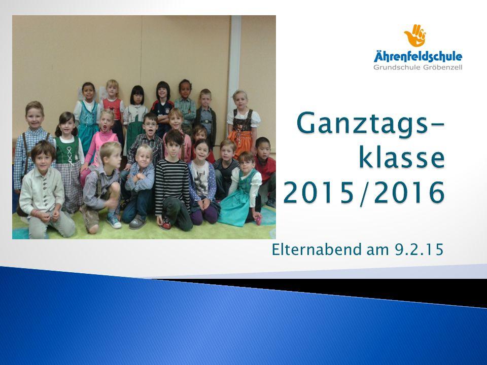 """ Was bedeutet """"gebundene Ganztagsschule in Bayern."""