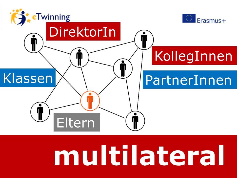 multilateral DirektorIn KollegInnen PartnerInnen Eltern Klassen