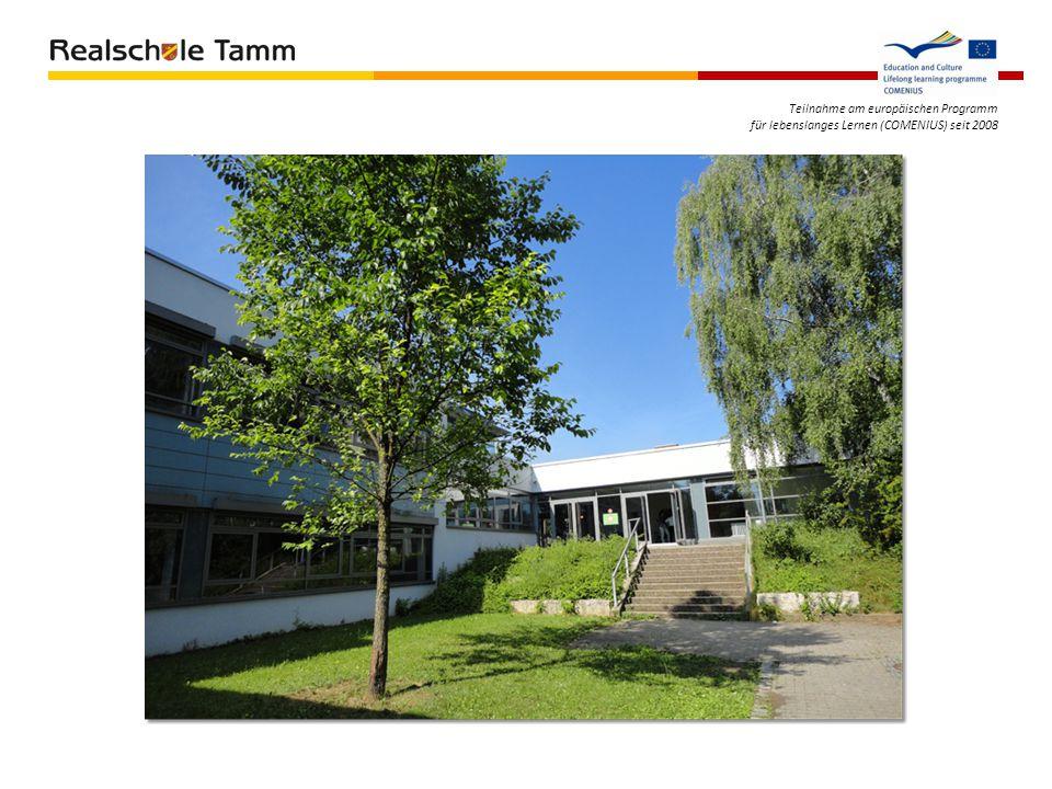 Teilnahme am europäischen Programm für lebenslanges Lernen (COMENIUS) seit 2008