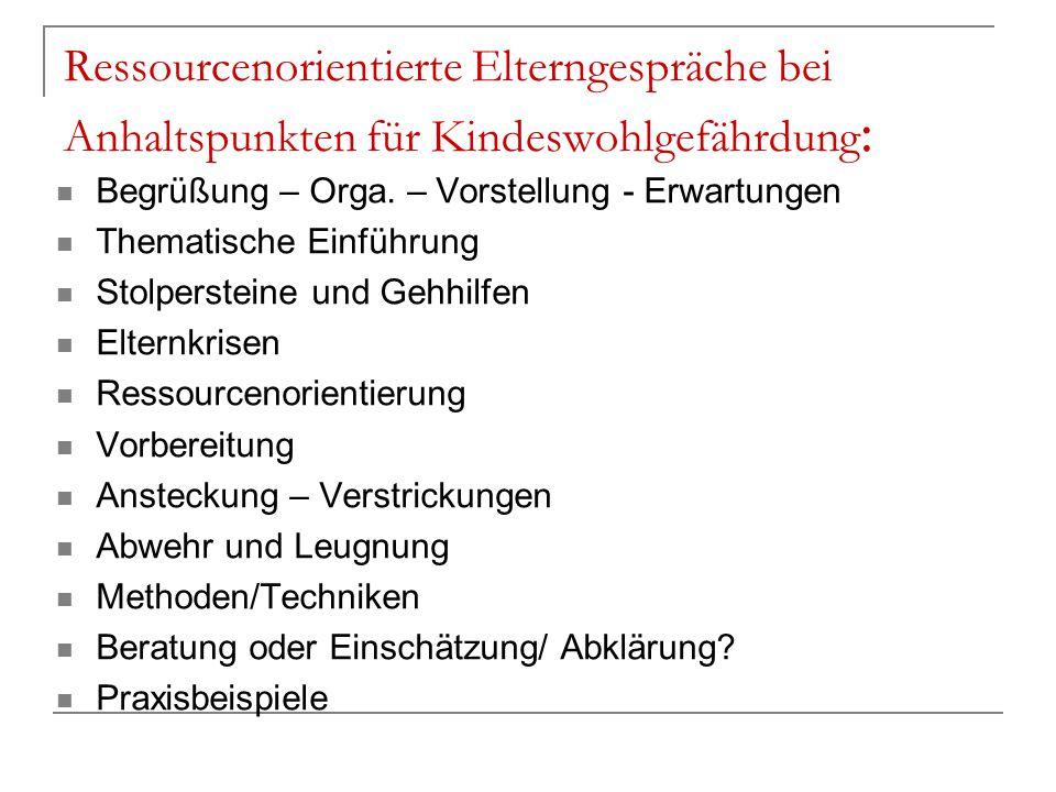 Aktives Zuhören/KontrollierterDialog - Verständnissicherung - Kooperatives Gesprächsklima - Kontrolle der der Gesprächsdynamik - Möglichkeit der Reflexion