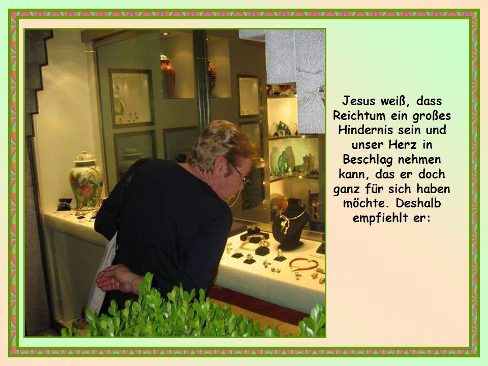 Die Einzigartigkeit der Worte Jesu besteht darin, dass er eine uneingeschränkte Hingabe verlangt.