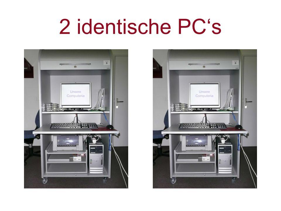 2 identische PC's