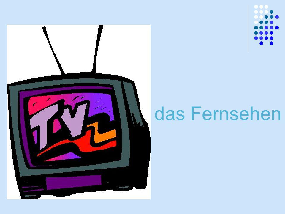 das Fernsehen