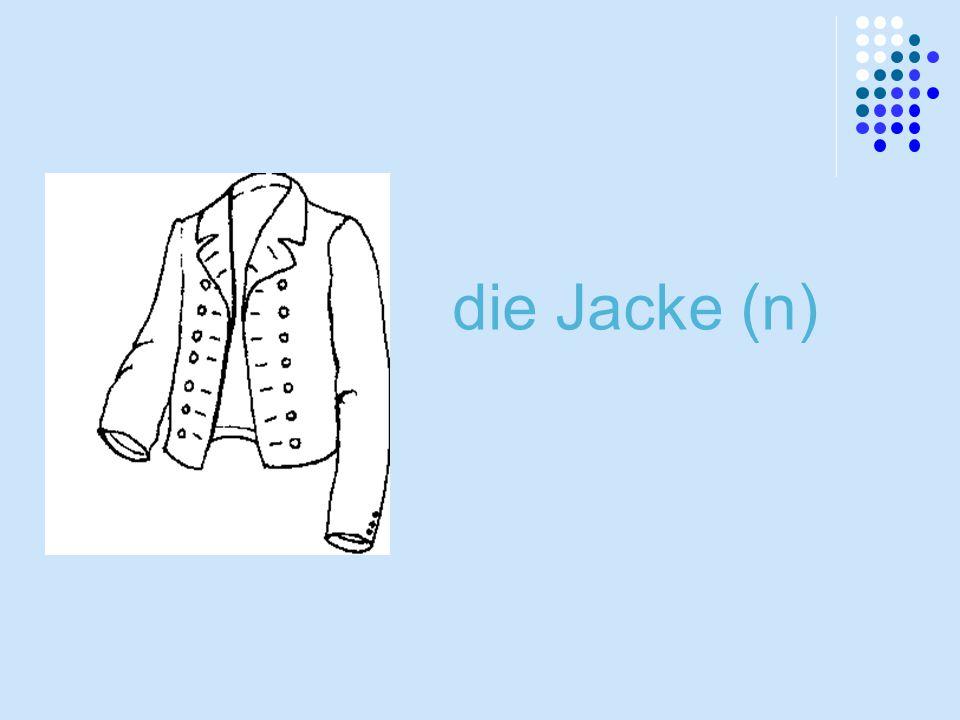 die Jacke (n)