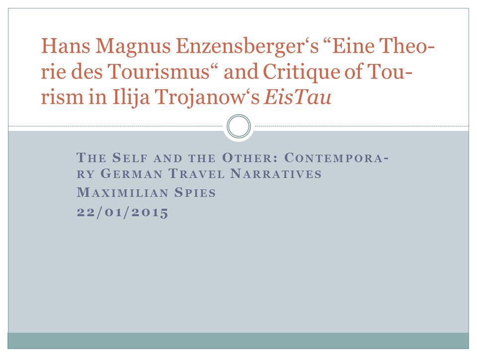 Hans Magnus Enzensber- ger (b.