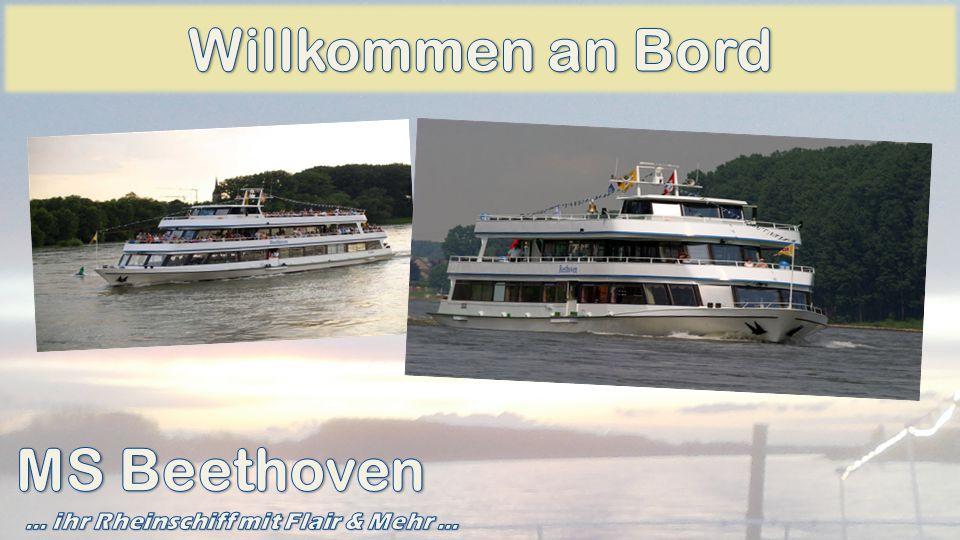 Kapitän Alexander Dahm und seine Crew laden Sie herzlich zu einer erlebnisreichen Flussfahrt auf dem Rhein ein.