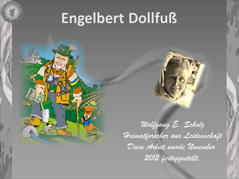 Dollfuß, Engelbert, * 4.10. 1892 Texing (Gemeinde Texingtal, Niederösterreich), † 25.
