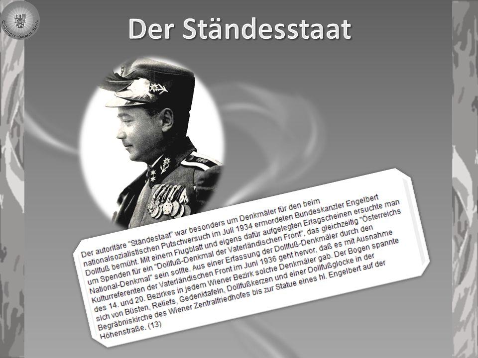 Bundespräsident Wilhelm Miklas bei der Rede zur Eröffnung des ersten Teilstückes der Wiener Höhenstrasse.