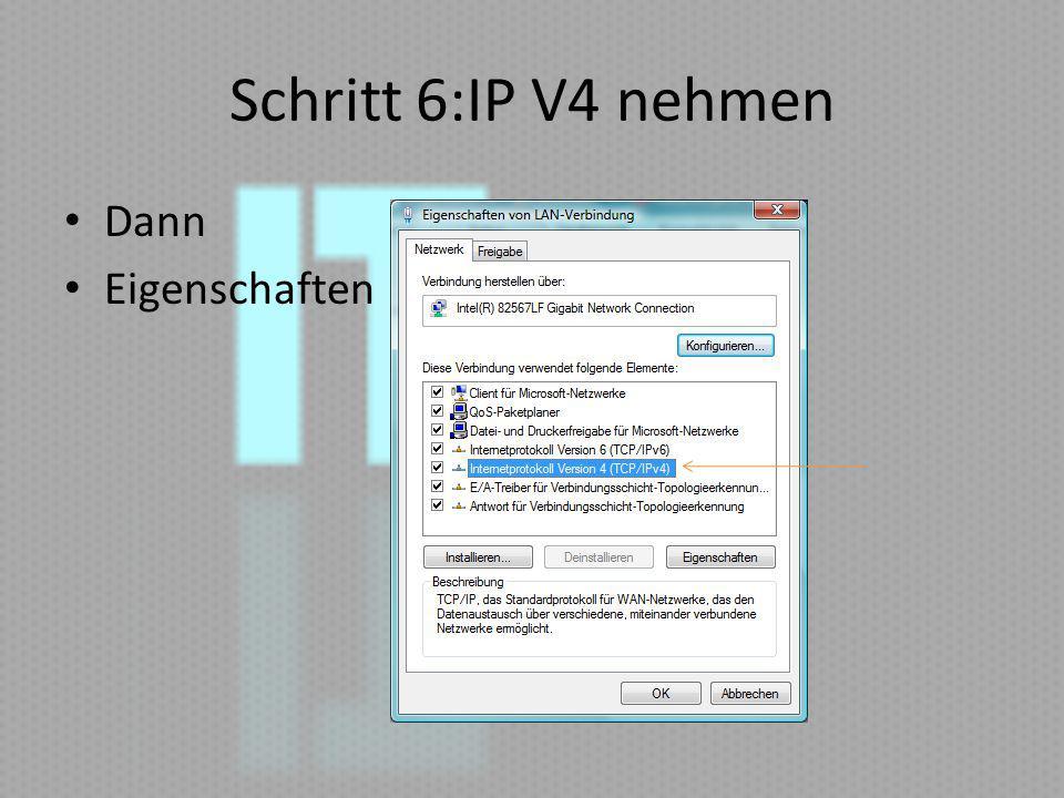 Schritt 7: IP ändern Bei bedarf