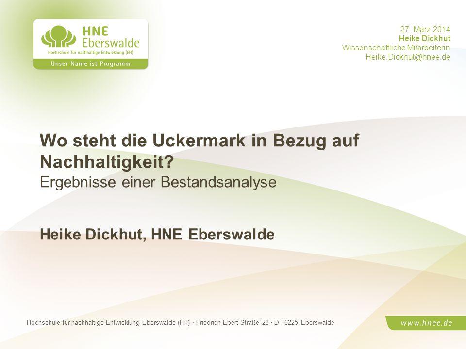 Prof. Dr. Max Mustermann · HNE Eberswalde (FH) · Modul Wirtschaftskreisläufe ·Seite 1 Hochschule für nachhaltige Entwicklung Eberswalde (FH) · Friedri