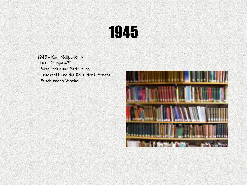 1945 1945 – Kein Nullpunkt !.