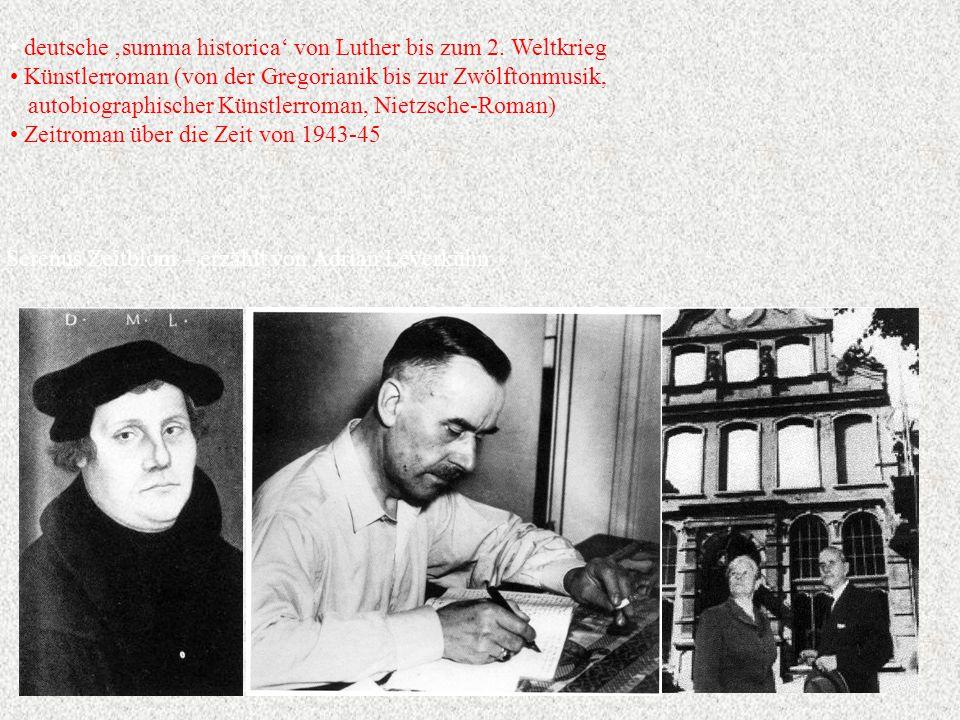 deutsche 'summa historica' von Luther bis zum 2.