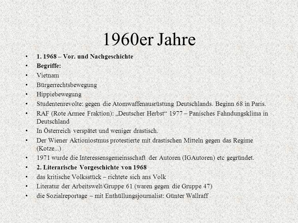 1960er Jahre 1.1968 – Vor.