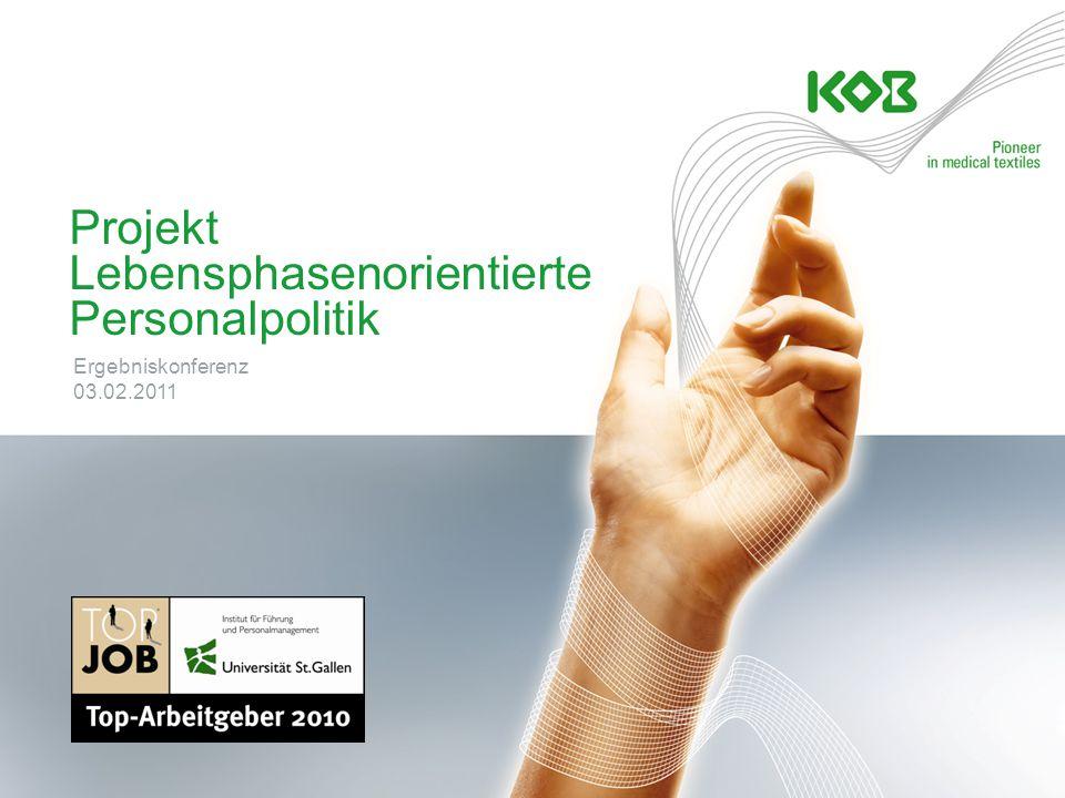 Projekt Lebensphasenorientierte Personalpolitik Ergebniskonferenz 03.02.2011