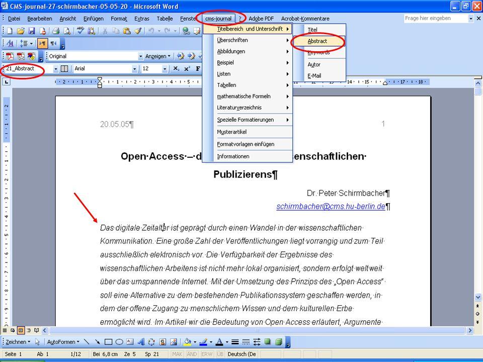 © Computer- und Medienservice, Humboldt-Universität zu Berlin 23.05.2005