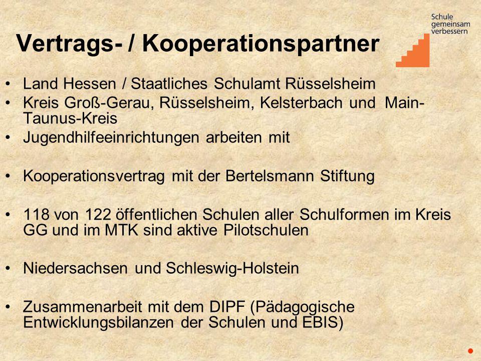 Vertrags- / Kooperationspartner Land Hessen / Staatliches Schulamt Rüsselsheim Kreis Groß-Gerau, Rüsselsheim, Kelsterbach und Main- Taunus-Kreis Jugen