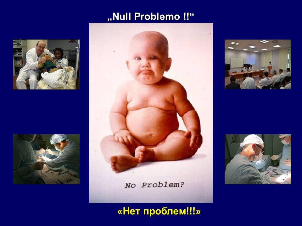 """""""Null Problemo !! «Нет проблем!!!»"""