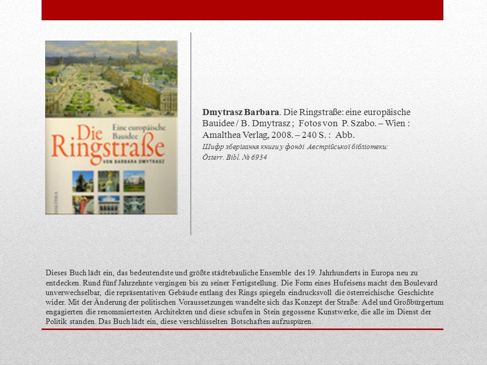 Dieses Buch lädt ein, das bedeutendste und größte städtebauliche Ensemble des 19.