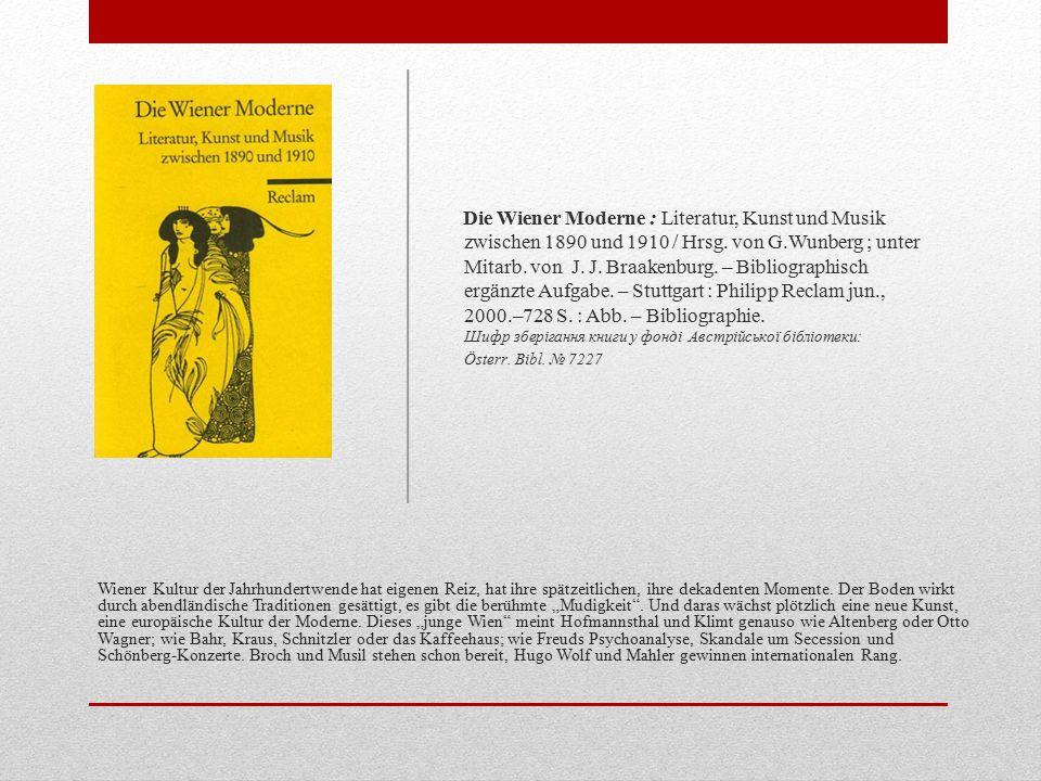 """Der Auszug einer Reihe junger Maler, Bildhauer und Architekten aus einer konservativ geführten Künstlervereinigung im Jahre 1897 fáhrte zur Gründung jener berühmt gewordenen """"Wiener Secession , deren Wirken in den ersten Jahren vor allem mit dem Schaffen der großen Wiener Jugendstilkünstler verbunden ist."""
