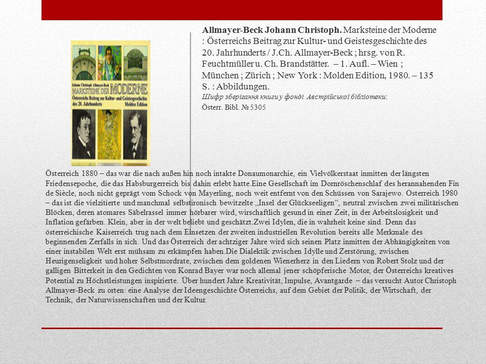 Österreich 1880 – das war die nach außen hin noch intakte Donaumonarchie, ein Vielvölkerstaat inmitten der längsten Friedensepoche, die das Habsburgerreich bis dahin erlebt hatte.Eine Gesellschaft im Dornröschenschlaf des herannahenden Fin de Siècle, noch nicht geprägt vom Schock von Mayerling, noch weit entfernt von den Schüssen von Sarajewo.