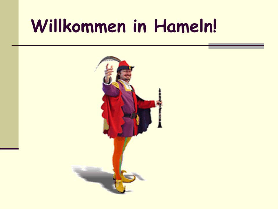 Willkommen in Hameln!