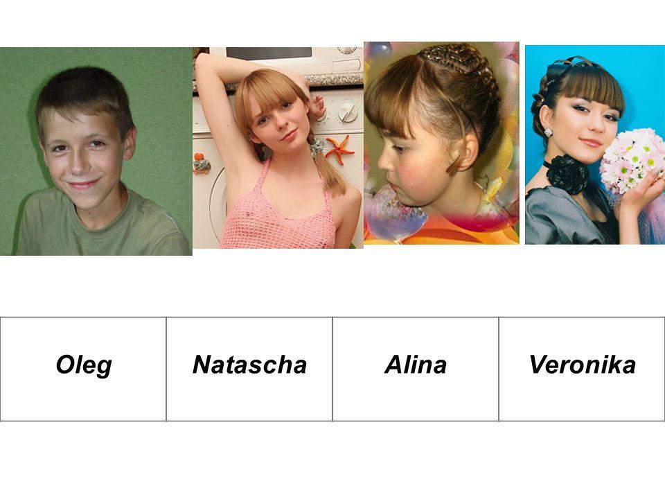 Übung 5. Представь этих детей как своих друзей и соседей по образцу.