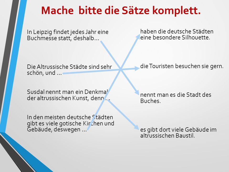 Образуйте сложносочиненное предложение из двух самостоятельных при помощи указанных союзов 1) Ralf hat einen Text übersetzt.