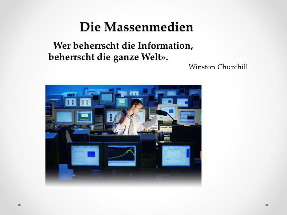 Was gehört zu den Massenmedien?