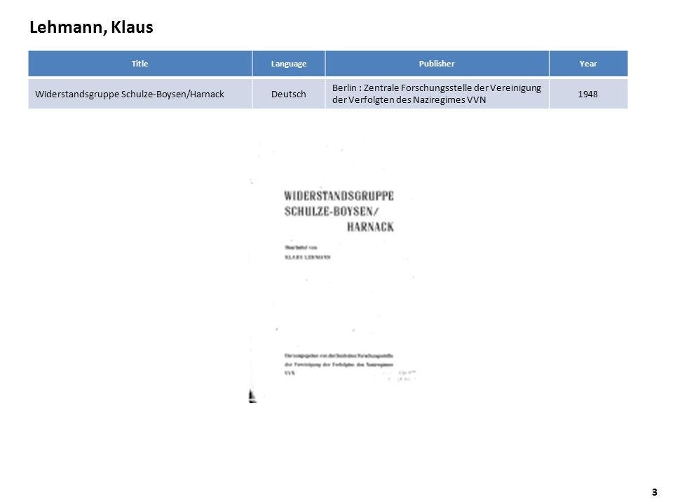Kurt, Hrsg.Schilde AuthorTitle Langua ge PublisherYear Kurt, Hrsg.
