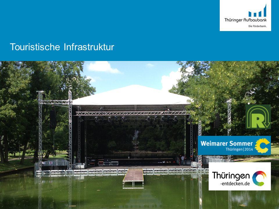 Landesprogramm Tourismus (Richtlinie vom 07.08.2012) Inhalt: ·Förderung von Investitionen zur Verbesserung der touristischen Infrastruktur (die in der GRW nicht ffg.