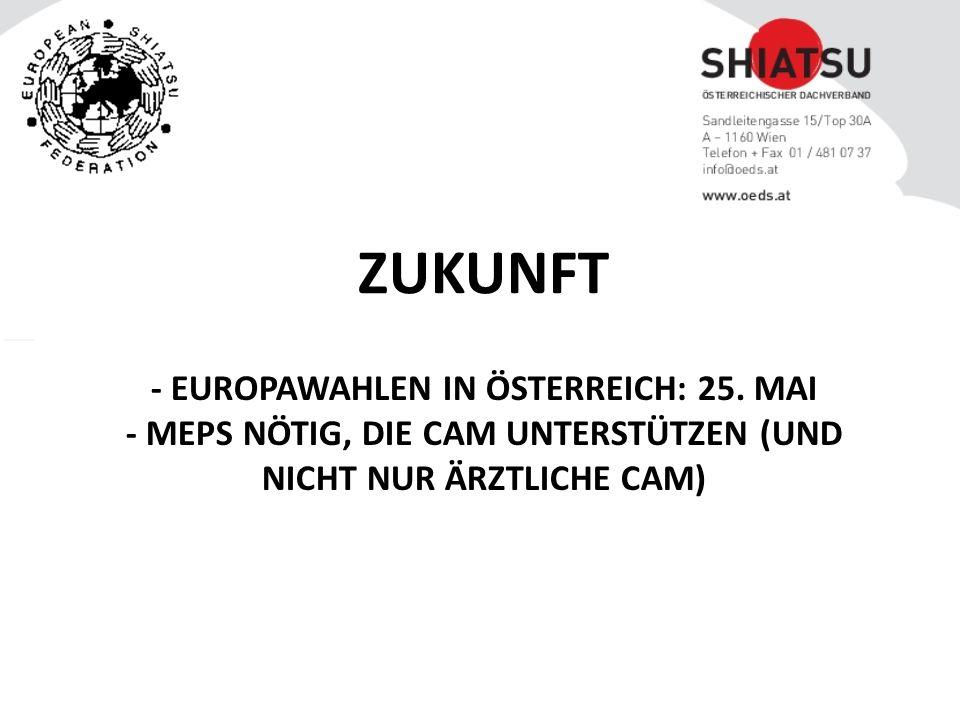 - EUROPAWAHLEN IN ÖSTERREICH: 25.