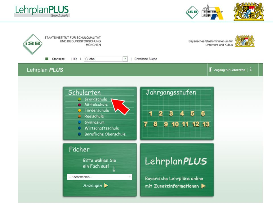 ^ 6.Was muss ich sonst noch wissen.Zugang für Lehrkräfte: Mediendatenbank Mebis (z.