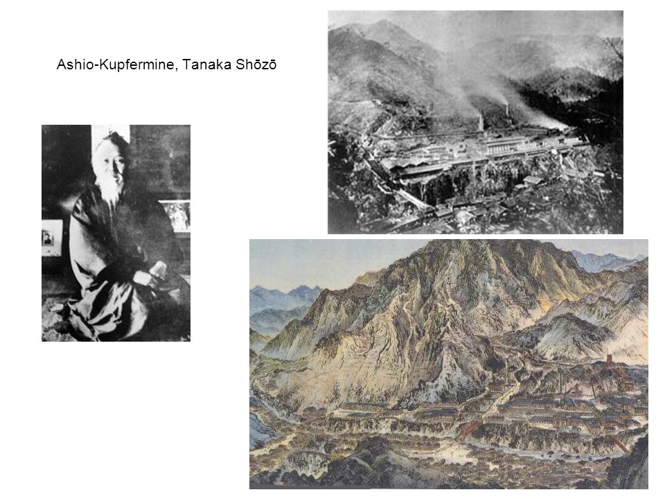 Ashio-Kupfermine, Tanaka Shōzō