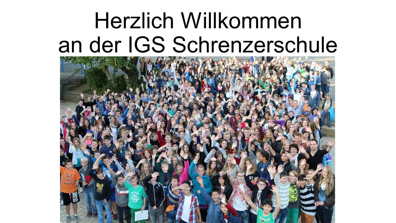 Herzlich Willkommen an der IGS Schrenzerschule