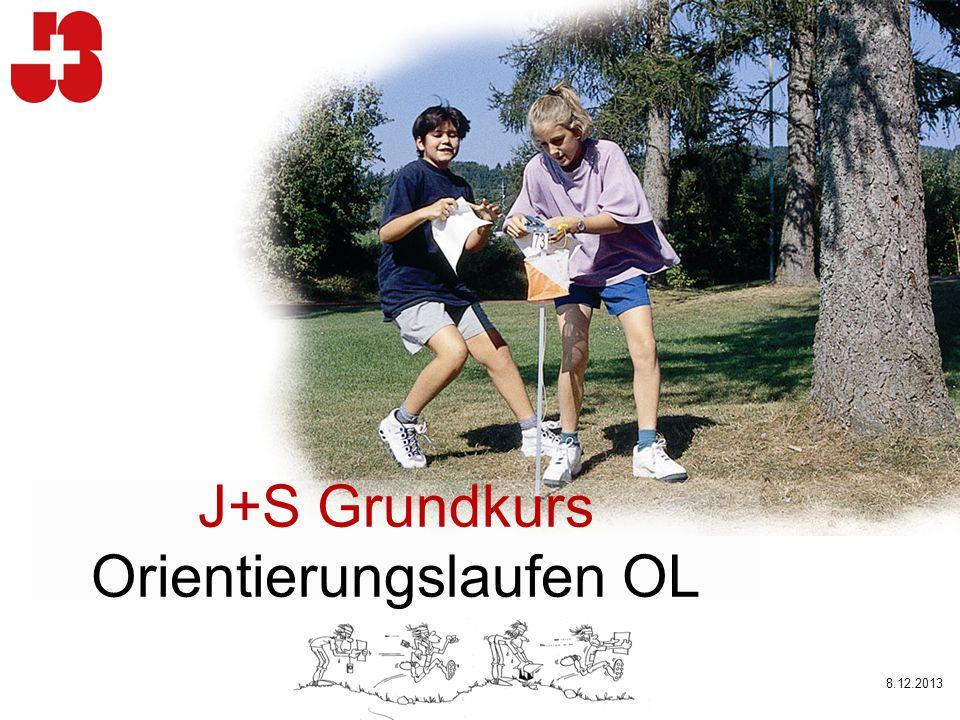 J+S Grundkurs Orientierungslaufen OL 8.12.2013