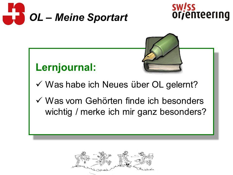 OL – Meine Sportart Lernjournal: Was habe ich Neues über OL gelernt.