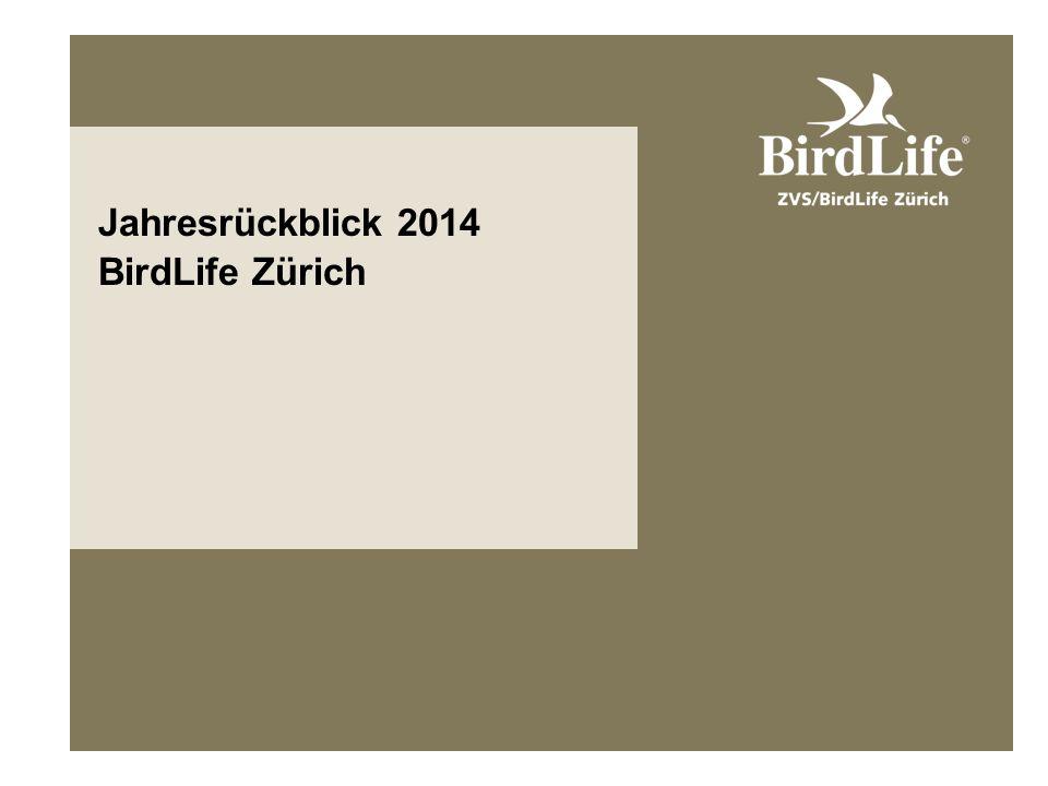 Jahresrückblick 2014 BirdLife Zürich
