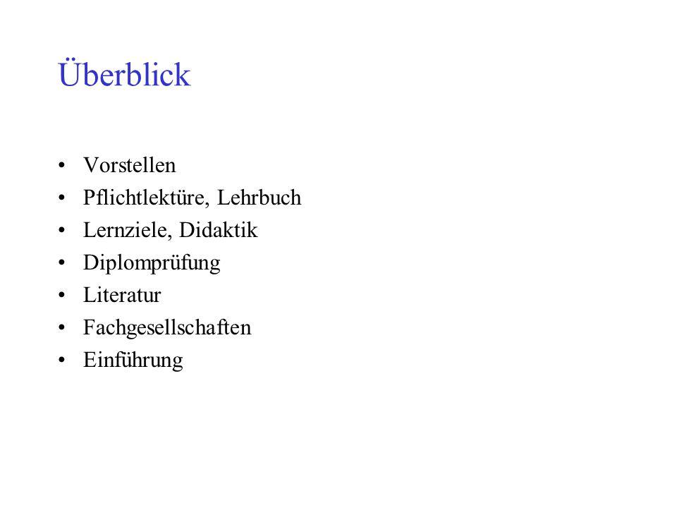 Zeitschriften, Schriftenreihen, Programme Fachzeitschriften u.a.