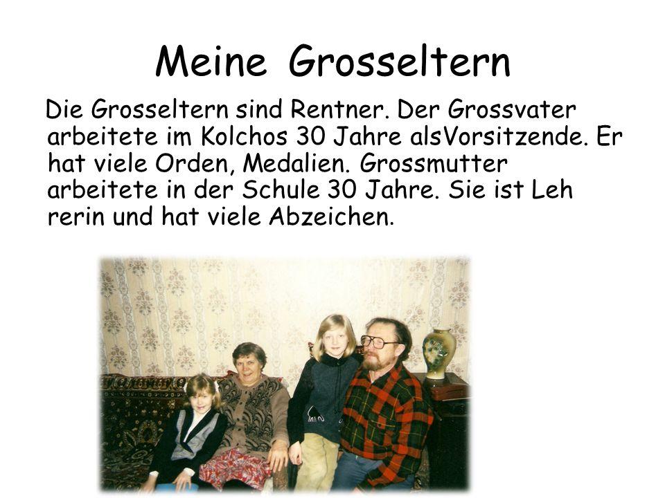 Die Verwandten Jch habe viele Verwandten.Das sind Tanten, Onkel und Vetter.