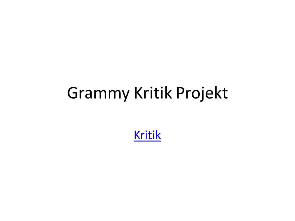 Hintergrund: You and your partner are Grammy critics talking about the results of the 2014 Grammy's.